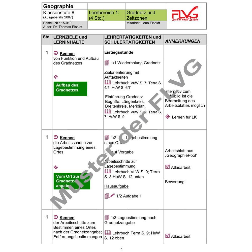 Lernbereich 1: Gradnetz und Zeitzonen, FLVG-Shop