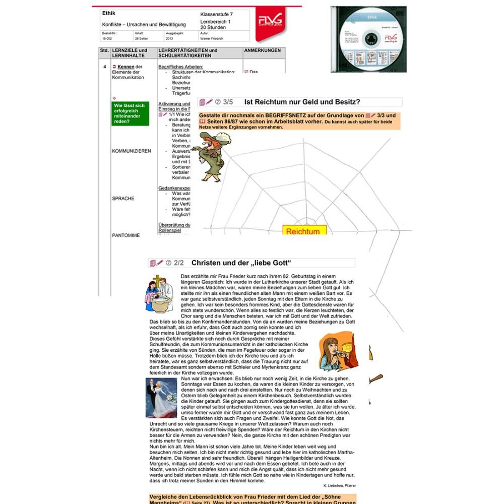 Ethik-CD mit 18-052 bis 18-054, FLVG-Shop
